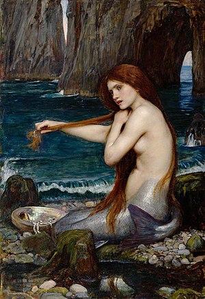 English: A Mermaid Français : Une Sirène