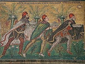 Basilica of Sant'Apollinare Nuovo in Ravenna, ...