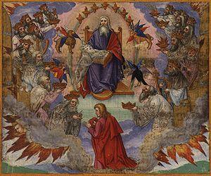 Page 287r: John's Vision of Heaven, Revelation...
