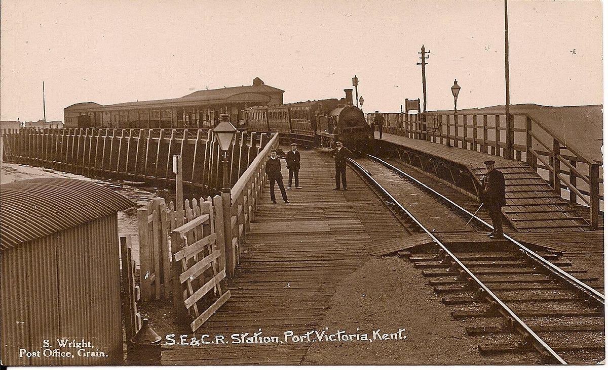 Port Victoria Railway Station Wikipedia