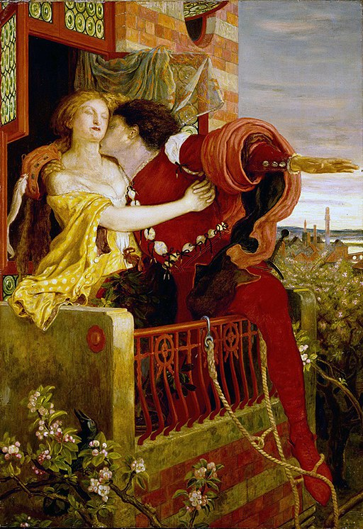 """""""Romeo and Juliet"""" by Ford Madox Brown"""
