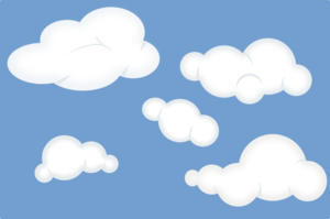 A set of clouds