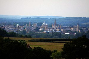 English: The City of Dreaming Spires from Boar...