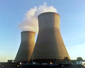 Vogtle nuclear power station Cooling Towers