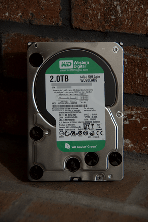Western Digital WD20EADS two terrabyte hard di...