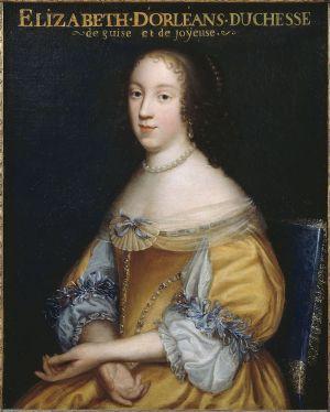 Élisabeth (Isabelle) d'Orléans, Duchess of Guise by Beaubrun.jpg