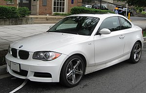 2008-2009 BMW 135i photographed in Washington,...