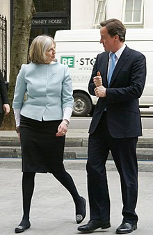 May with David Cameron, May 2010