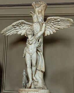 Ganymede Leochares Vatican Inv2445