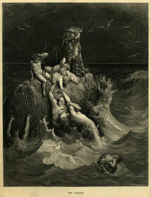 """The Deluge"", Frontispiece to Gustav..."