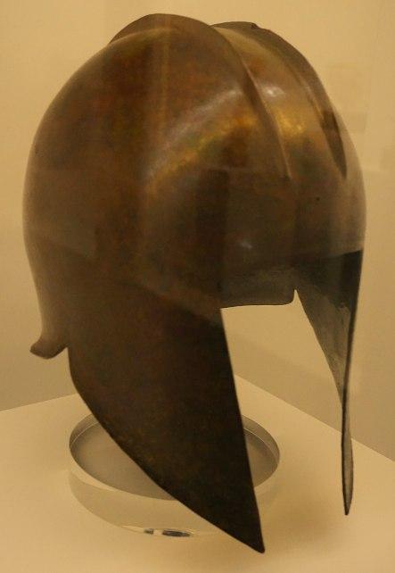 "Hellenic Museum, Melbourne - Joy of Museums - Greek ""Illyrian type"" Helmet 2"