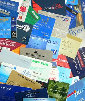 Different customer loyality cards