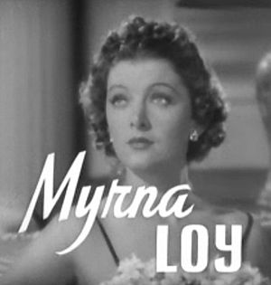 Cropped screenshot of Myrna Loy from the trail...
