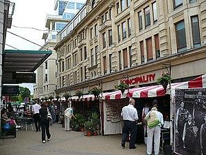English: Outdoor Craft Market Cardiff Summer A...