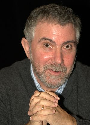 Paul Krugman at the 2010 Brooklyn Book Festival.