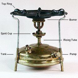 Generic Portable Kerosene Stove 3 Litre Silver