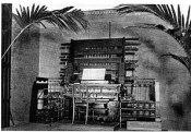 Telharmonium console by Thaddeus Cahill