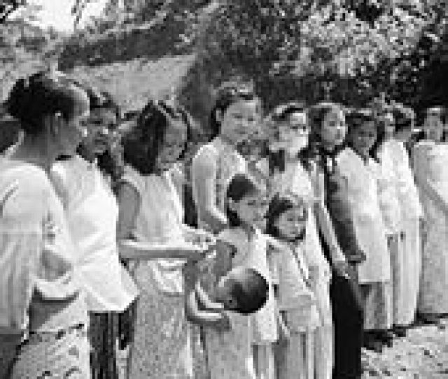 Chinese And Malayan Girls Forcibly Taken From Penang By The Japanese To Work As Comfort Girls For The Troops