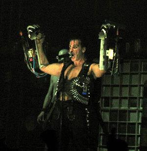Till Lindemann, singer of German band Rammstein