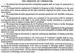 Nine Demands of Liberalism (1872)