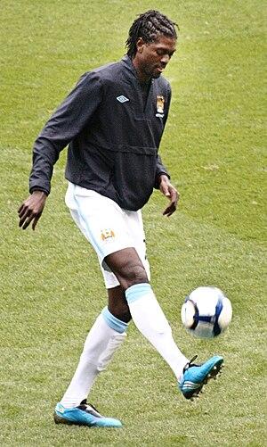 Emmanuel Adebayor of Manchester City