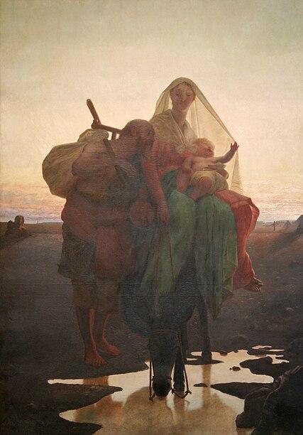 Ficheiro:Almeida Júnior - Fuga para o Egito, 1881.jpg