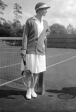 Helen Wills Moody is a eight-time champion