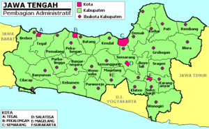 Central Java province, Indonesia