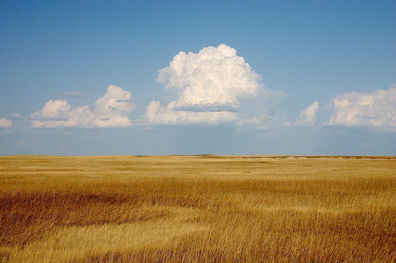 File:Cumulus Clouds over Yellow Prairie2.jpg