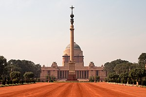 Raisina Hill is a prime area in Edwin Lutyens'...