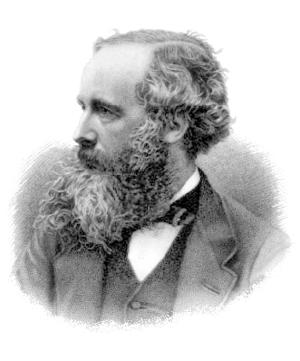 Engraving of James Clerk Maxwell by G. J. Stod...