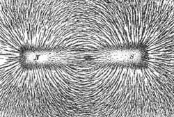 Lineas de fuerza de un campo magnético