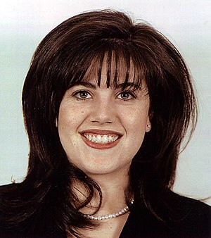 Monica Lewinsky, from her government ID photo ...
