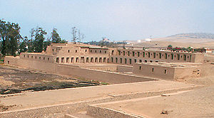 Pachacamac was an important religious centre b...