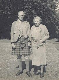 The 6th Duke & Duchess of Montrose in the 1940s.jpg