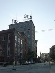 Former Lowell Sun headquarters