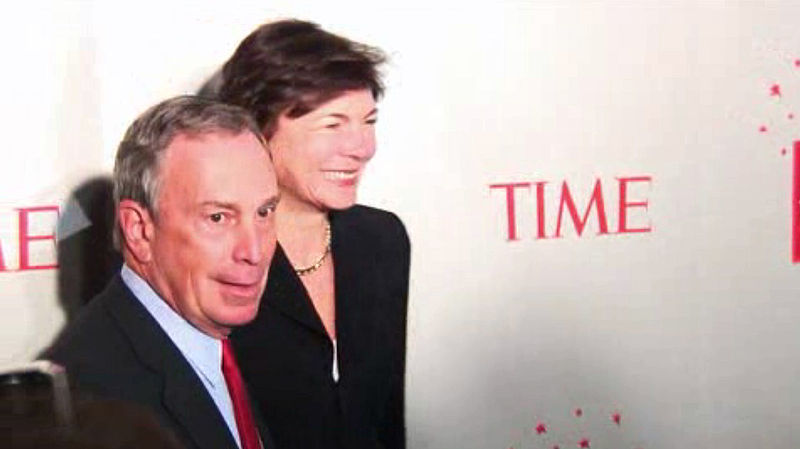 Time 100 Michael Bloomberg and wife