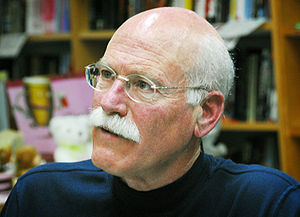 Tobias Wolff at an event at Kepler's in Menlo ...