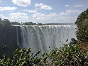 The Victoria Falls. Talks between the territor...
