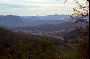 English: Western Carolina University and Littl...