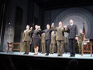 A Few Good Men at the Haymarket Theatre, Londo...