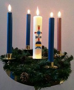 Advent wreath - Wikipedia