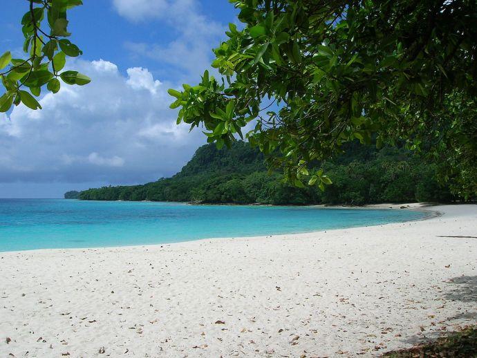 as praias mais bonitas do mundo Champagne Beach, Vanuatu