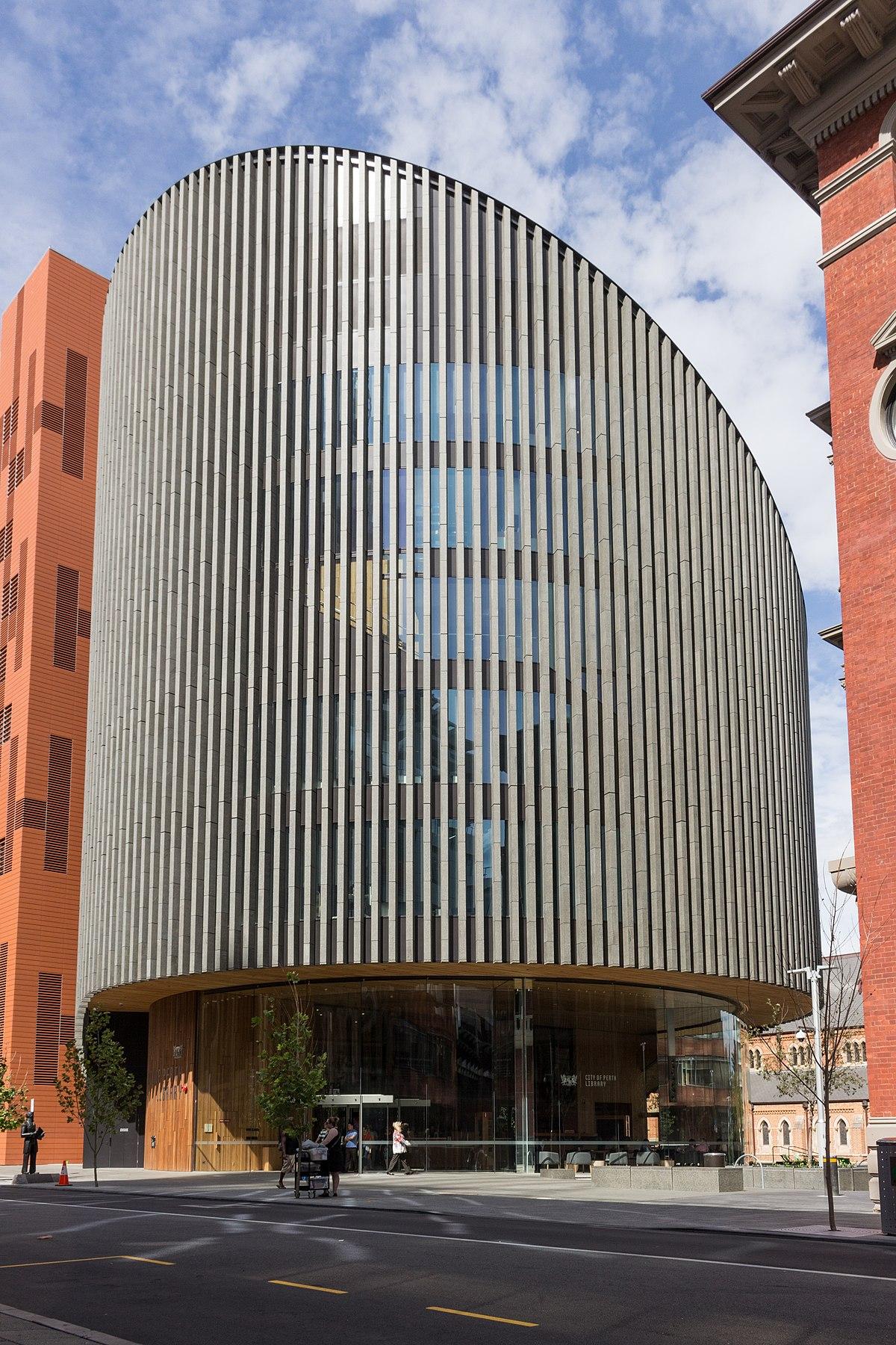 City Of Perth Library Wikipedia