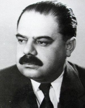 English: Janos Fazekaş, romanian communist leader