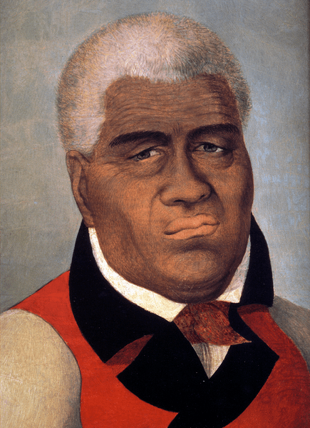 Portrait of King Kamehameha the Great
