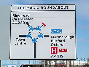 One of the more unusual UK road signs, at the ...