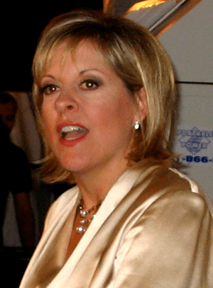 Nancy Grace at her book party for her new book...