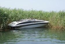 Boat in Lake Ohrid, Macedonia