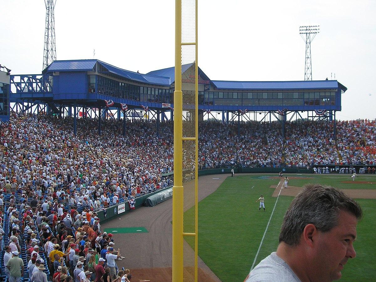 This is the way I remember Rosenblatt stadium.